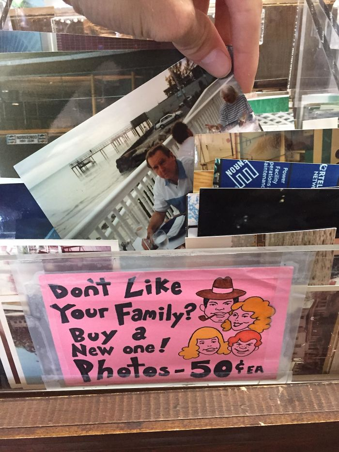 This Thrift Shop Sells Thousands Of Random Family Photos