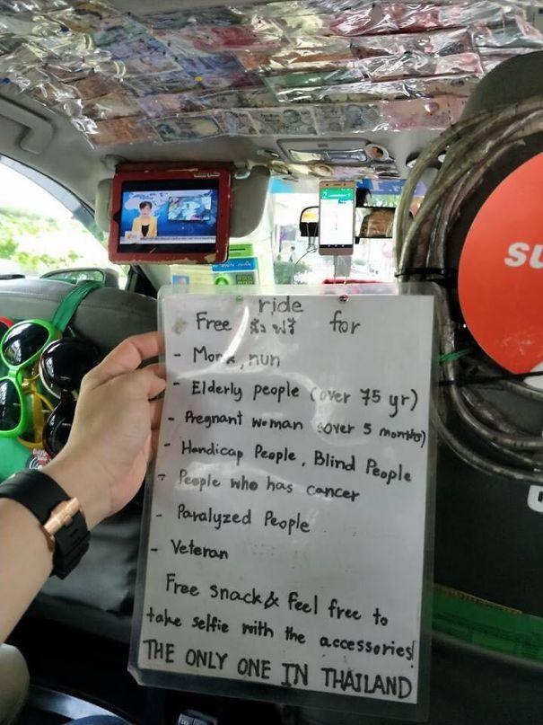 This Bangkok Taxi Driver Being A Real Bro