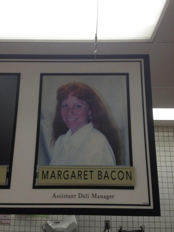 Assistant Deli Manager Margaret Bacon