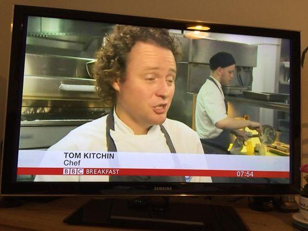Chef Tom Kitchin