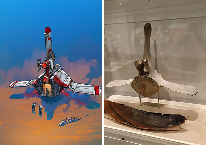 Artist Turns Everyday Objects Into Spaceship Designs, And The Result Is Out Of This World (11 Pics)