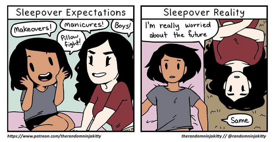 Artist Does Illustrations About What It's Like To Be A Girl, And You Will Identify With That, We Are Sure