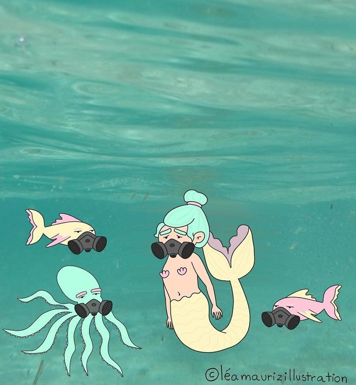 Sunscreen Is Very Toxic For Sea Life. Protect Both Your Skin And The Environment By Using Organic Sunscreen