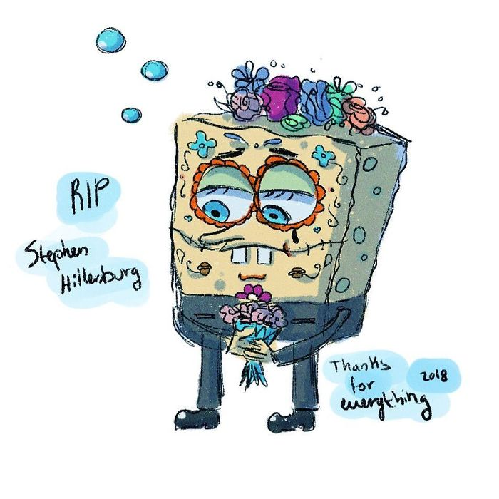I Am Extremely Sad About The News Of Sponge Bob Creator Stephen Hillenburg Passing Away