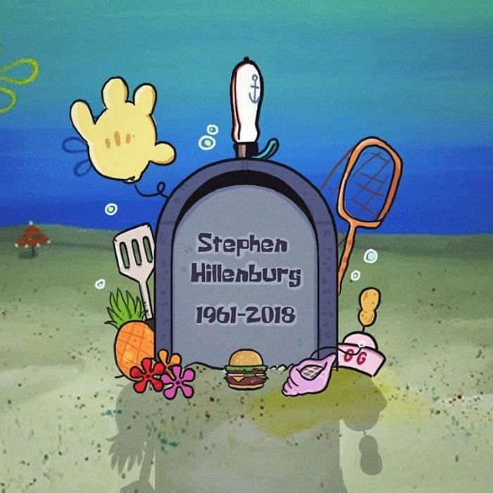 Thank You So Much Mr.hillenburg,you Made My Childhood Colourfull And Funny,i Hope Spongebob Squarepants Is Never Die, Toothanks A Lot, Rest In Peace