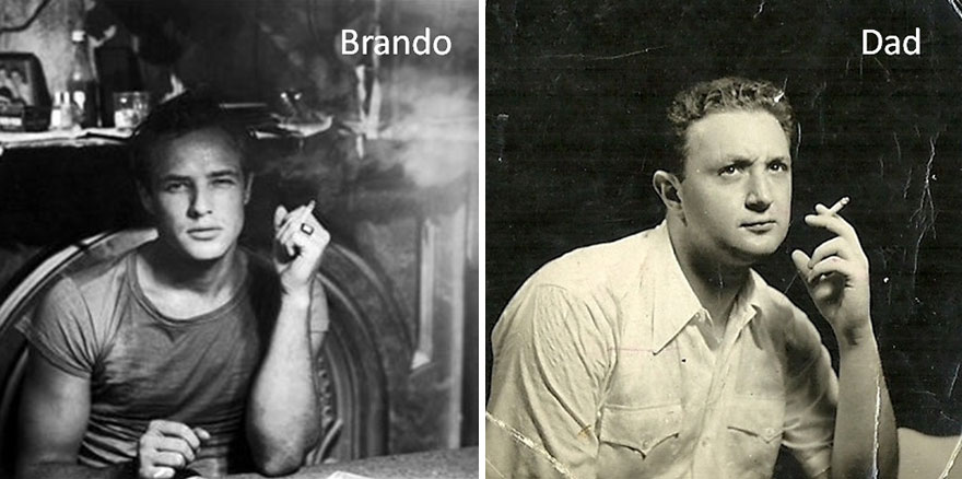 My Father And Brando: Similar Times, Similar Styles And Gestures