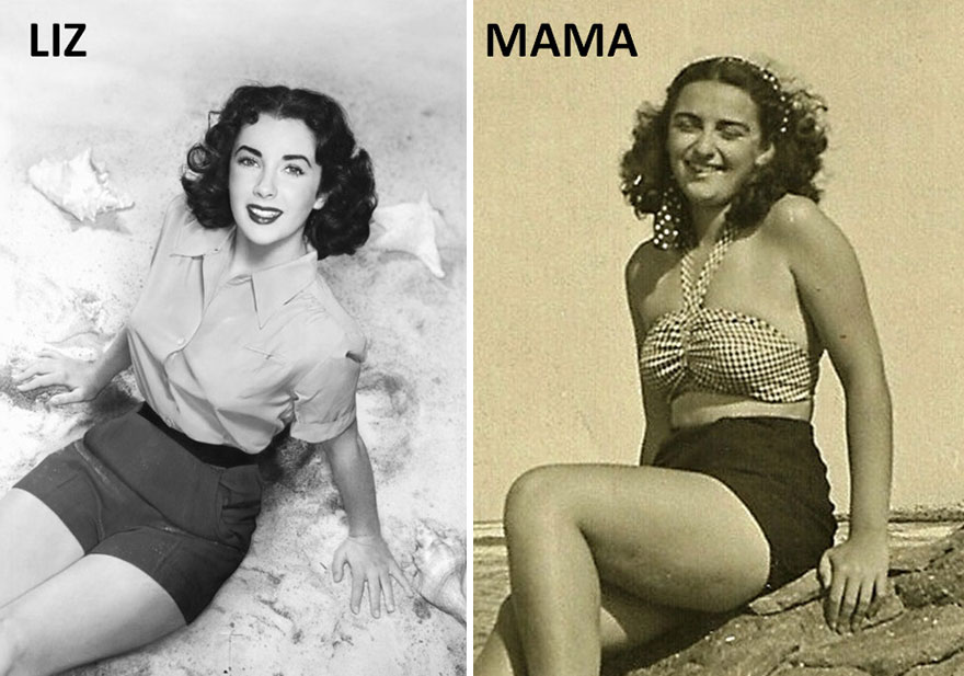 My Mother And Liz: Similar Times, Similar Styles And Gestures