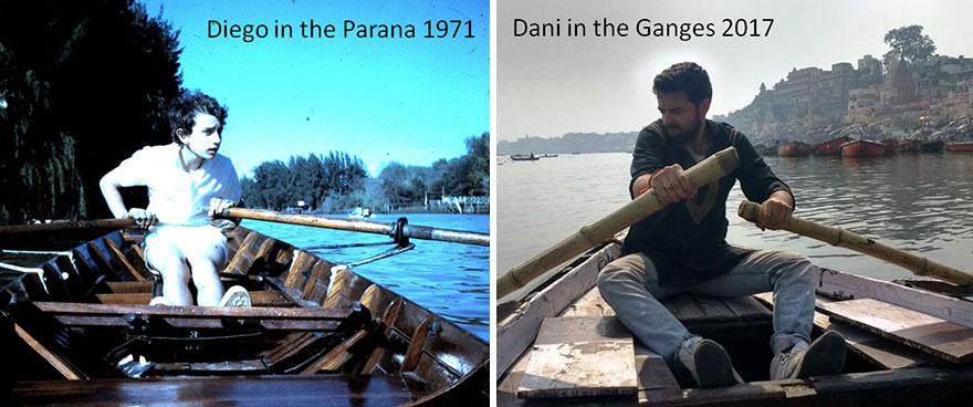 Me And Dani Rowing