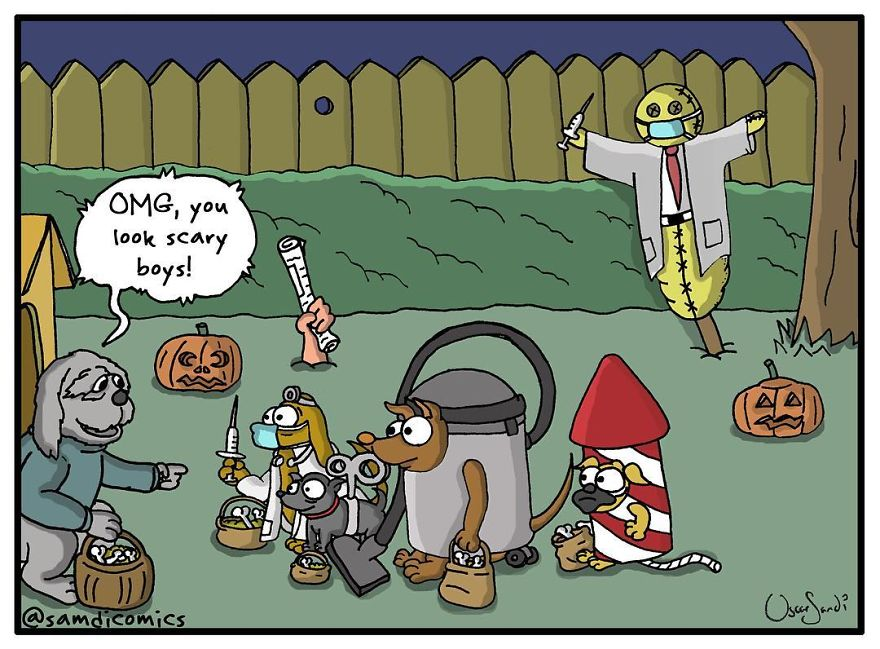 Scary Costumes - What Is Your Dog's Worst Fear?