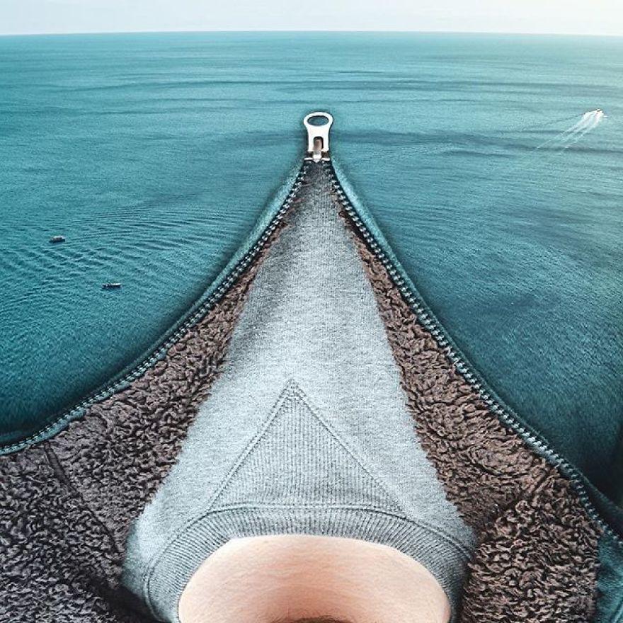 Sea-Through Hoodie