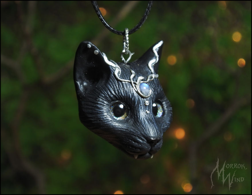 I Love To Sculpt, Doing This For Several Years. I Love Things For Which You Can Find Practical Application, So My Choice Fell On Making Jewelery. (+12 Pics)