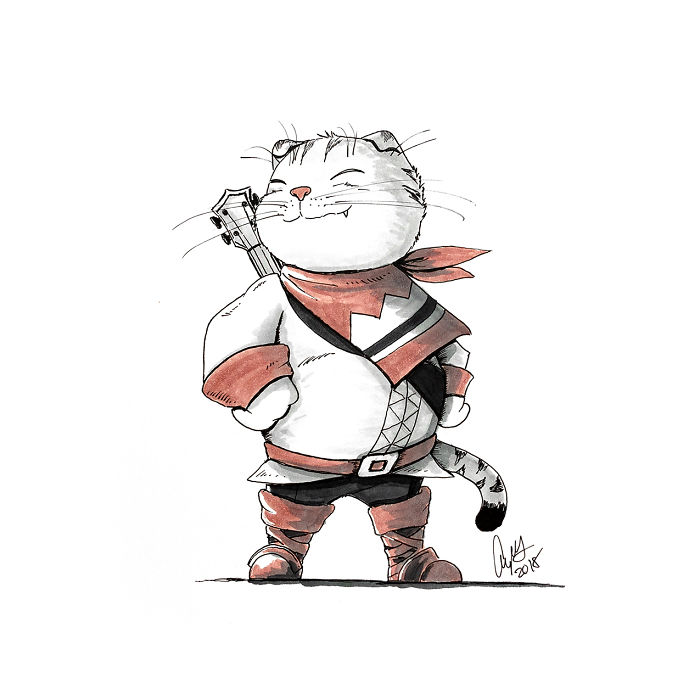 Scottish Fold Bard