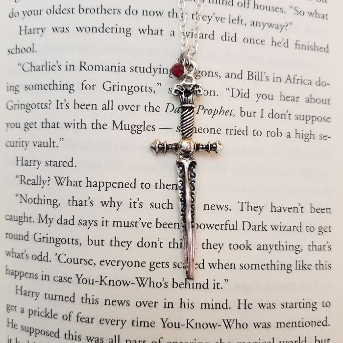Sword Of Gryffindor Necklace