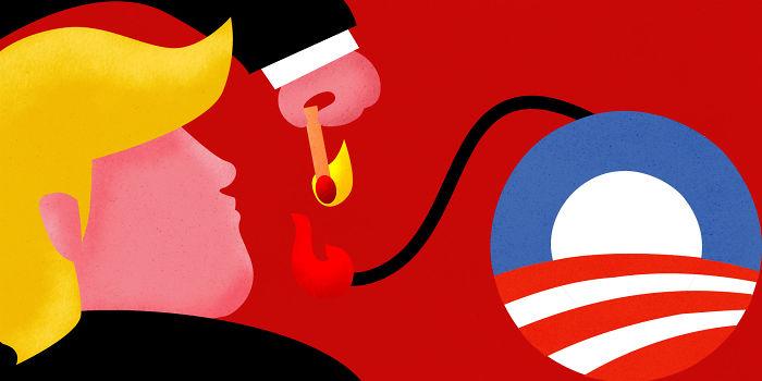 Trump Is Destroying Obamacare