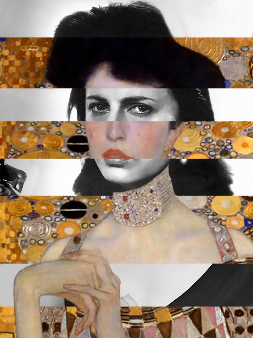 Klimt's Portrait Of Adele Bloch-Bauer & Anna Magnani
