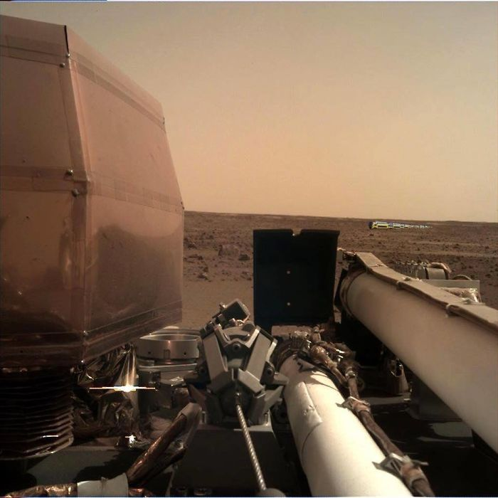 First Photo On Mars 2018…