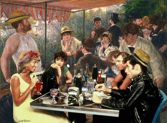 "Renoir's ""Luncheon Of The Boating Party"" & Grease"