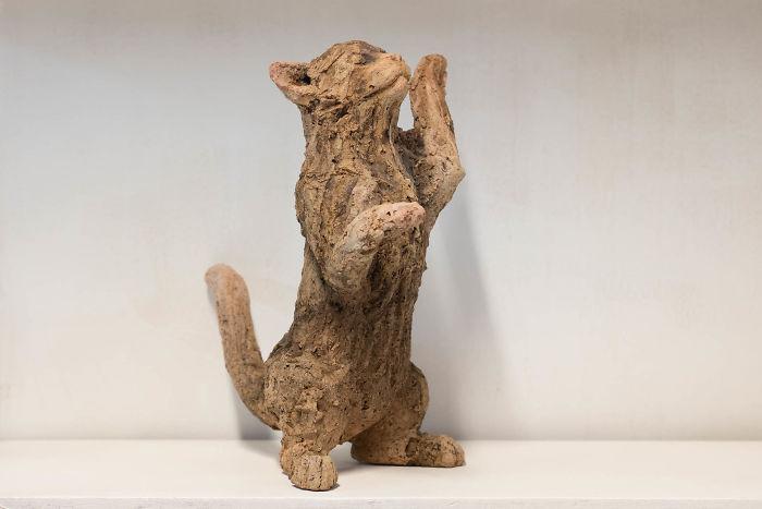 Emotional Ceramic Cats
