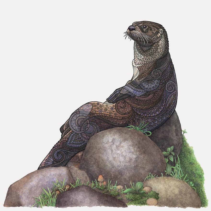 Majestic Otter