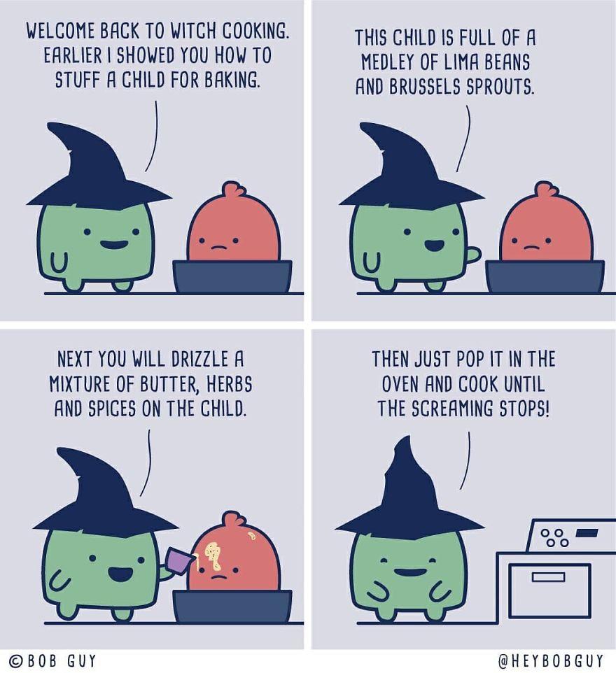 My Spooktober Comics