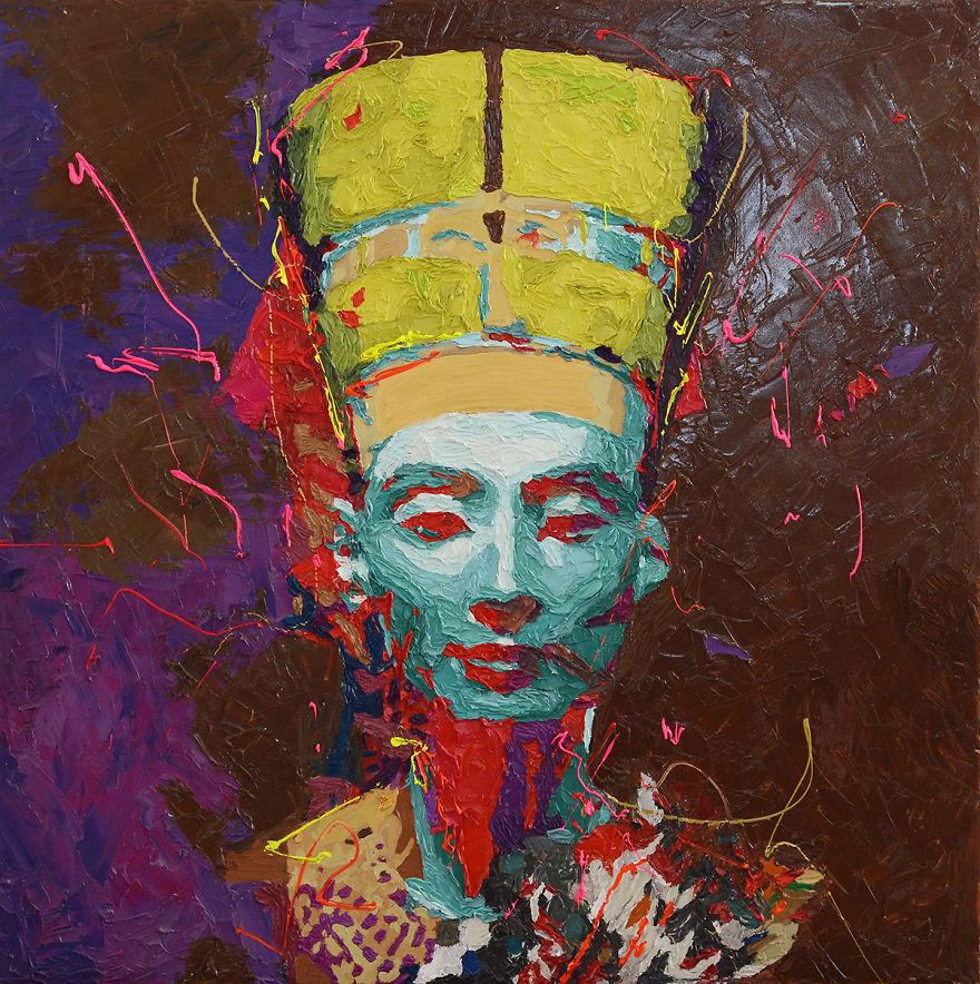 Nefertiti - New Series By Hossam Dirar