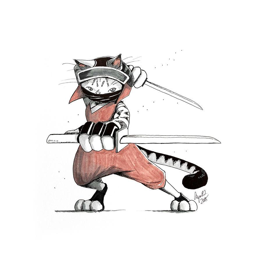 Egyptain Mau Ninja