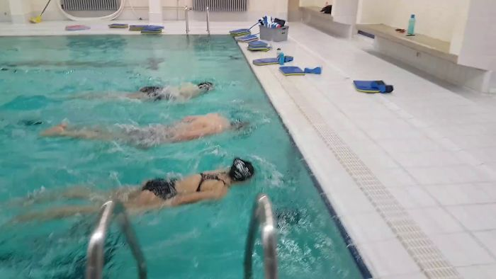 I Challenged My Swimming Class To Exit The Water Faster …