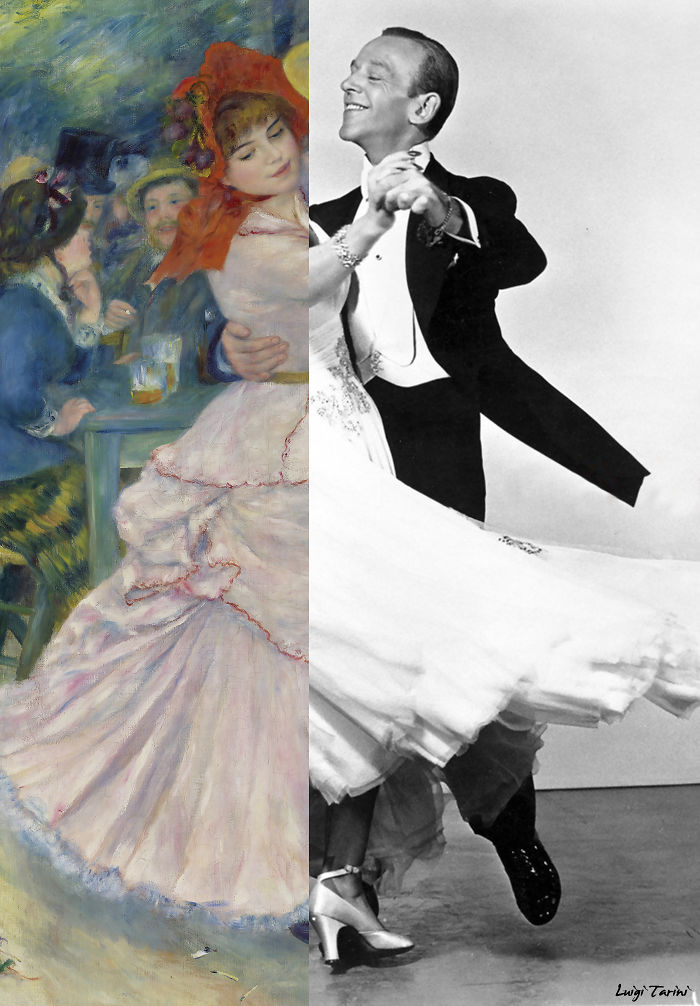 "Renoir's ""Dance At Bougival"" & Fred Astaire (With Ginger Rogers)"