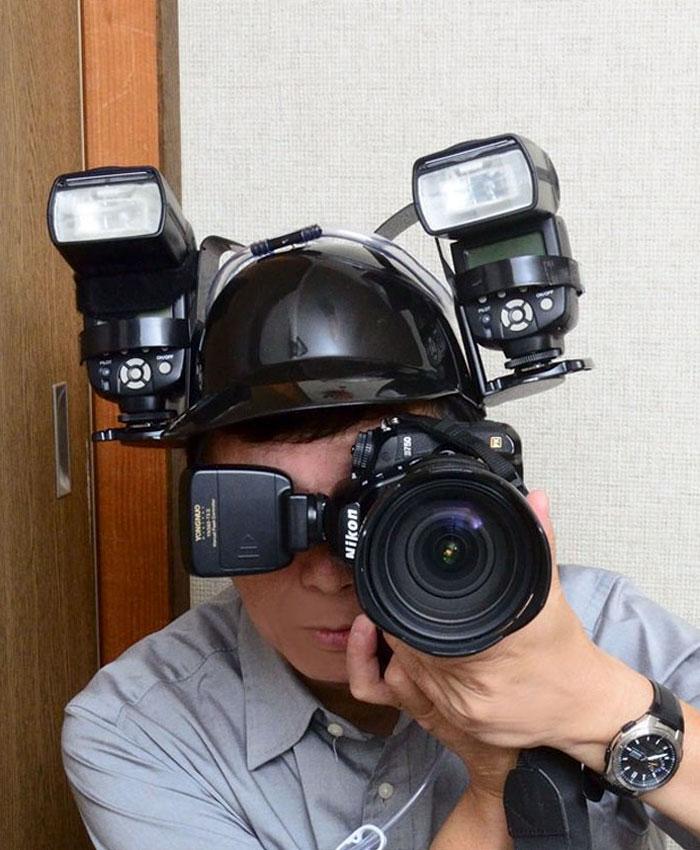 beer-helmet-photography-flash-reflector-