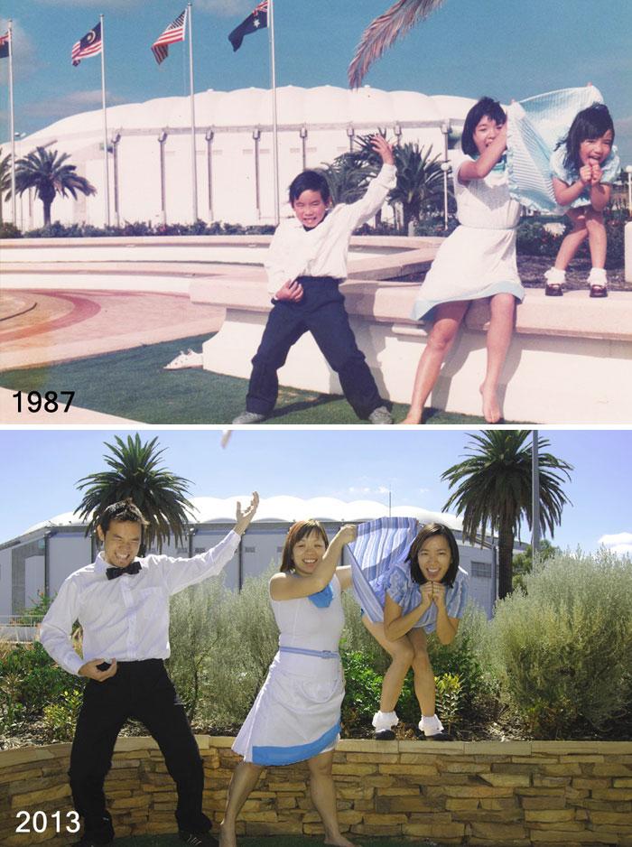 Siblings, 26 Years Apart (Perth, Western Australia)