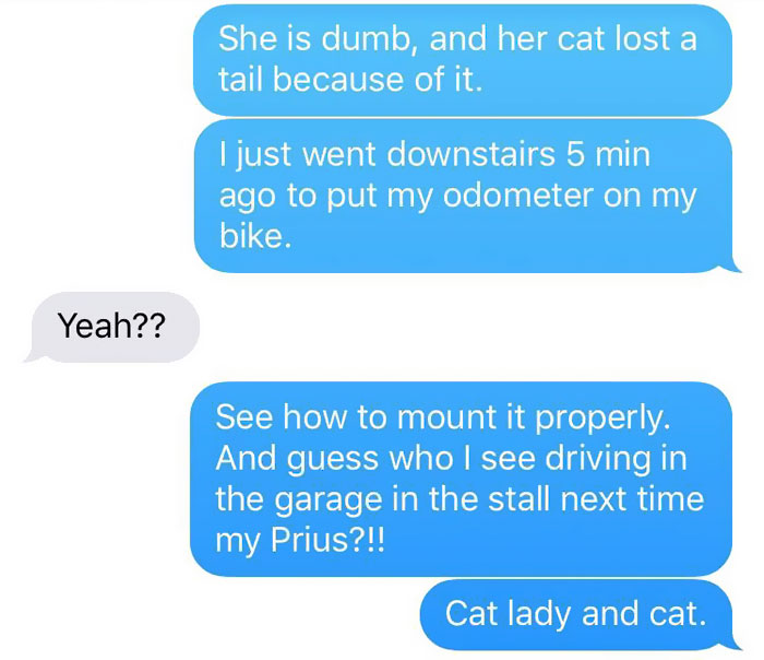 Girl Gets Hilariously Trolled By A Friend's Made-Up Cat Attack Story