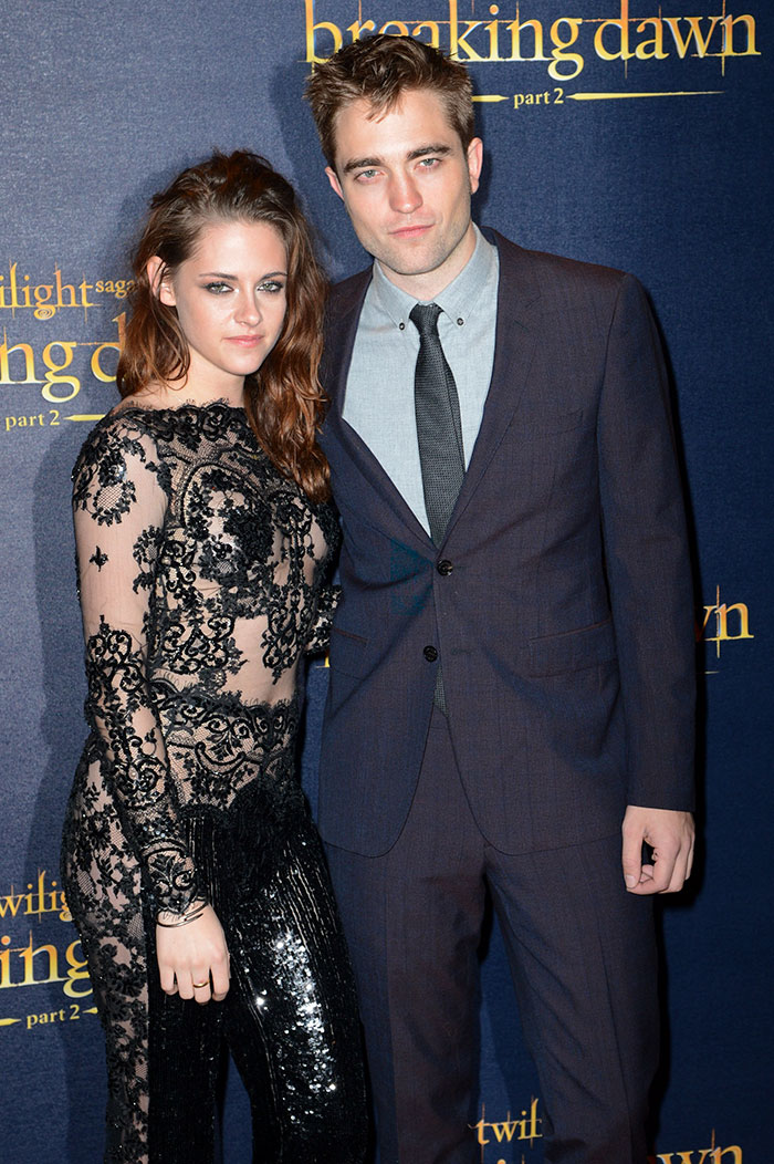 Kristen Stewart And Robert Pattinson