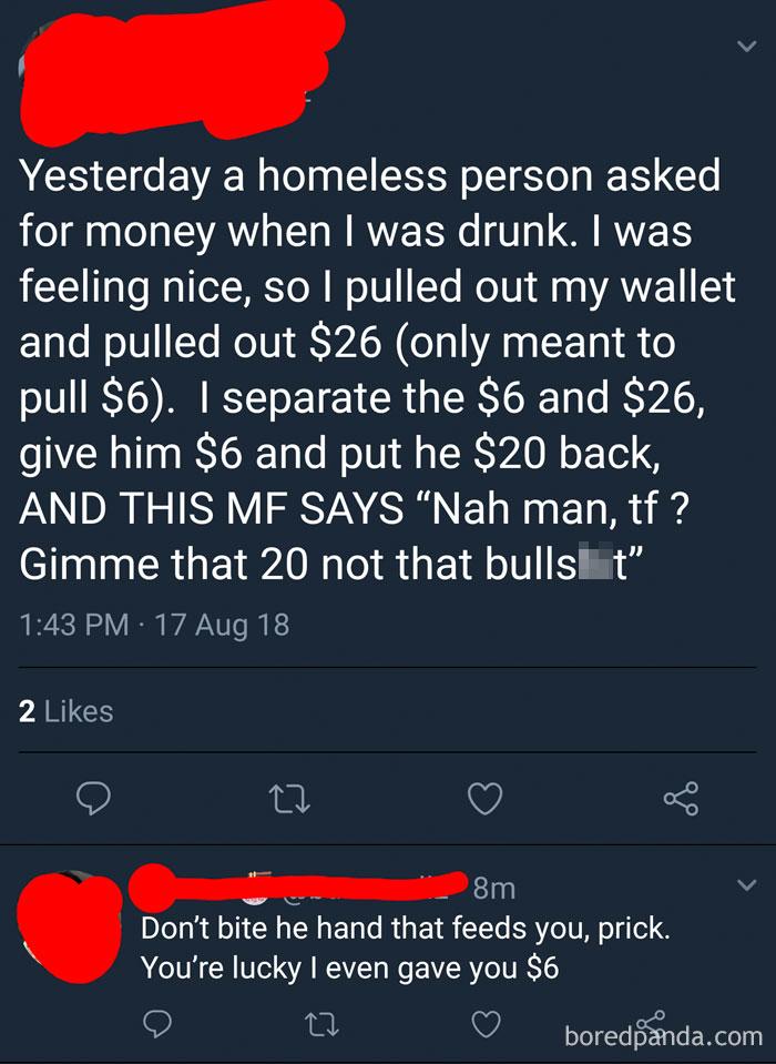 Literally A Choosing Beggar