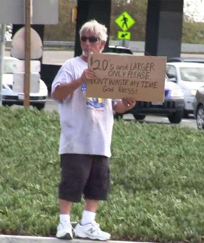 Quite Literally Choosing Beggar