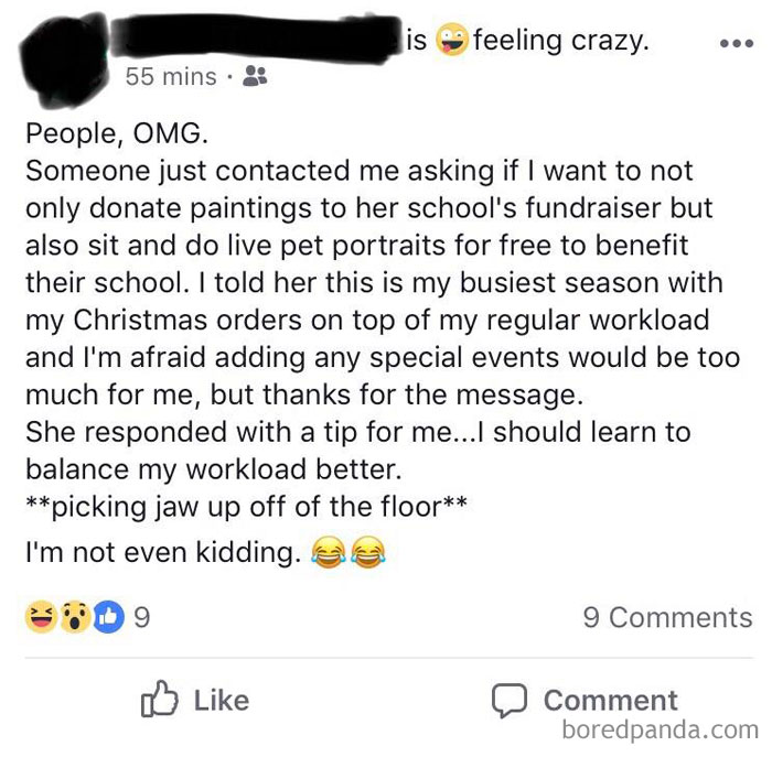 Better Learn How To Balance Her Workload