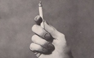 Bizarre 1959 'Cigarette Psychology' Article Explains 9 Ways People Hold Cigarettes And What It Says About You