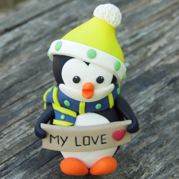 I Make Cute Penguin Ornaments For Christmas