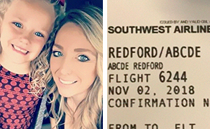 Mom Accuses Southwest Airlines For Name-Shaming Her 5 Year Old, Internet Name-Shames Her Even More