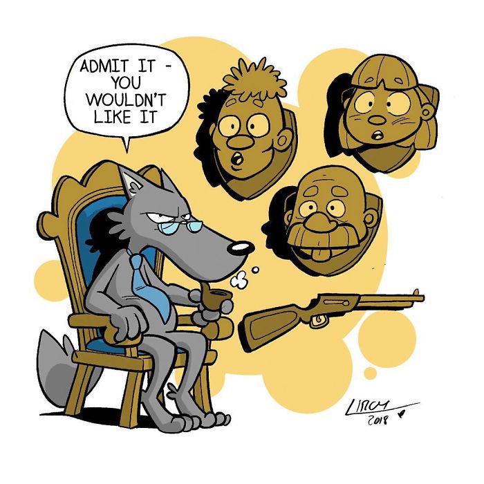 The Revenge Of Hunter Wolf