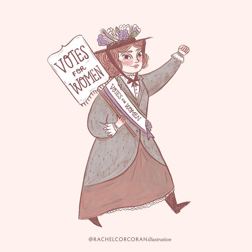 Emmeline Pankhurst - Suffragette Leader