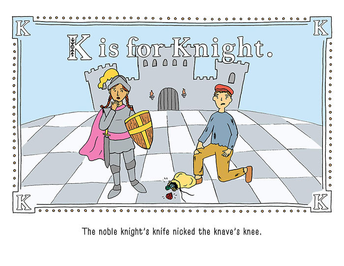 """Someone Created """"The Worst Alphabet Book Ever"""" And You'll Have A Hard Time Reading It"""