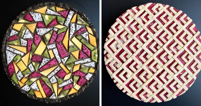 Woman Bakes More 'Pie Art' With New Intricate And Artistic Designs