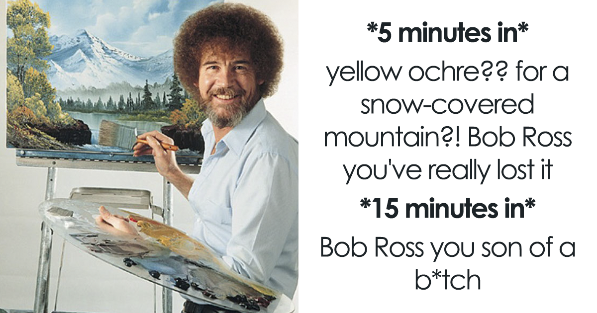25+ Bob Ross Memes That Will Make Your Day