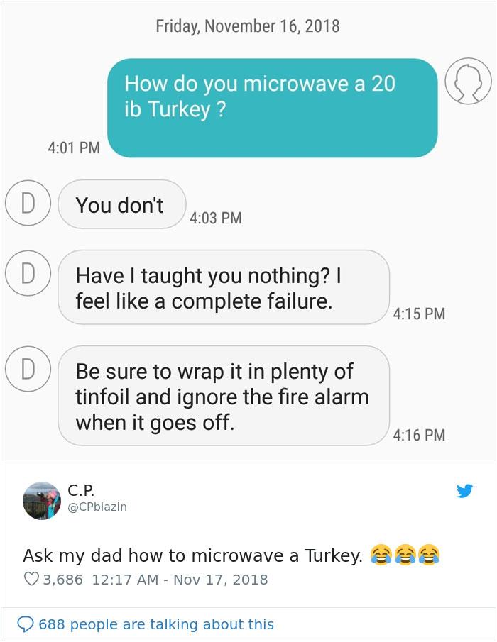 Microwave Turkey Prank