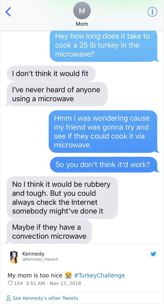 Microwave Turkey Prank