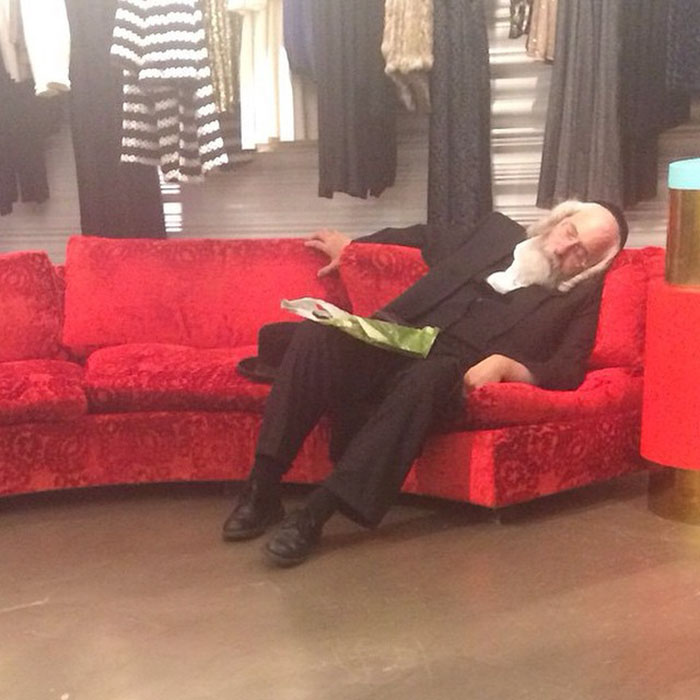 "50 ""Miserable Men"" Hilariously Captured While Their Women Were Shopping"