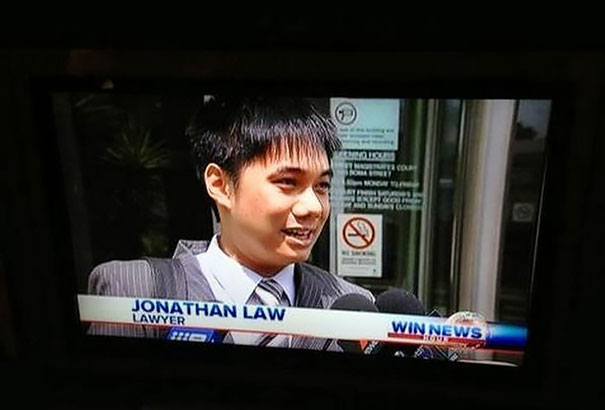 Lawyer Jonathan Law