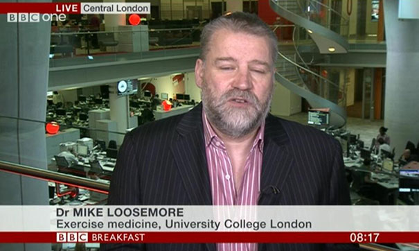 Dr Mike Loosemore Talking About Need To Lose Weight