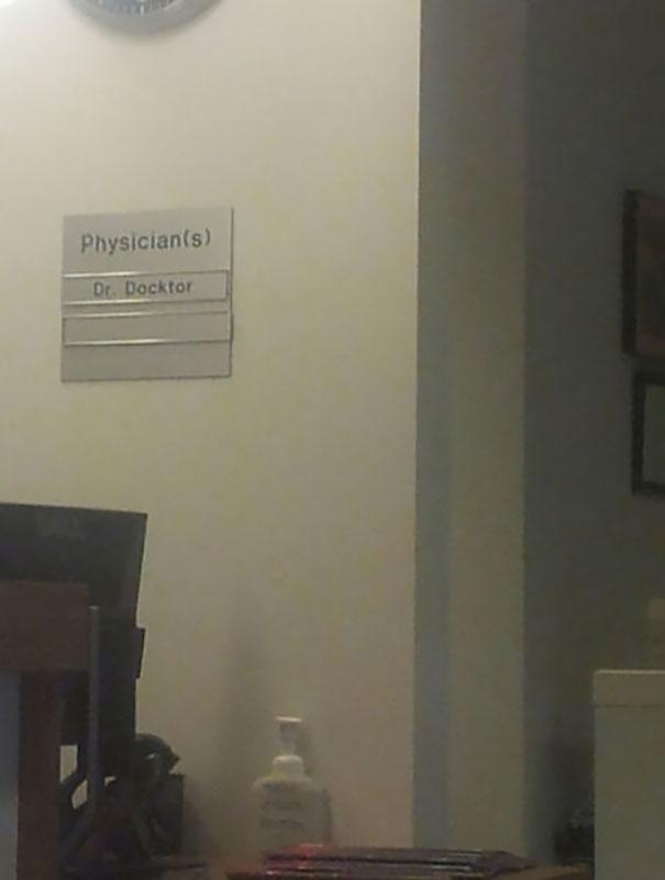Physician Dr. Docktor