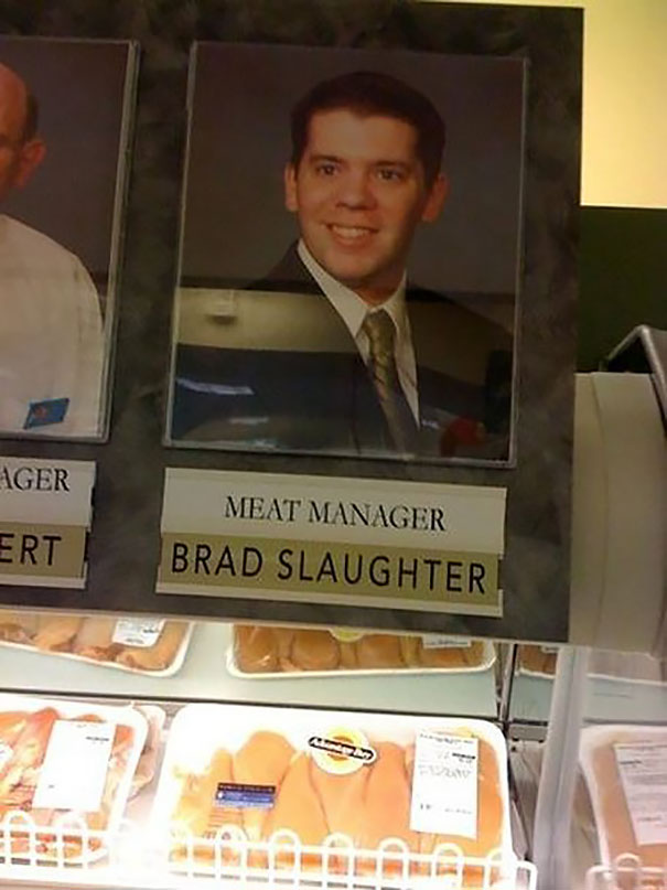 Meat Manager Brad Slaughter